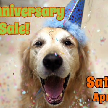 5th Anniversary Sale | Saturday April 21st