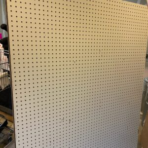 #2 peg board over 50 boards $1. Each